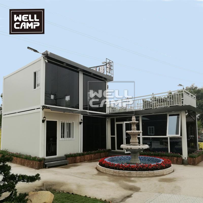 Wellcamp双层豪华打包箱办公室家用别墅