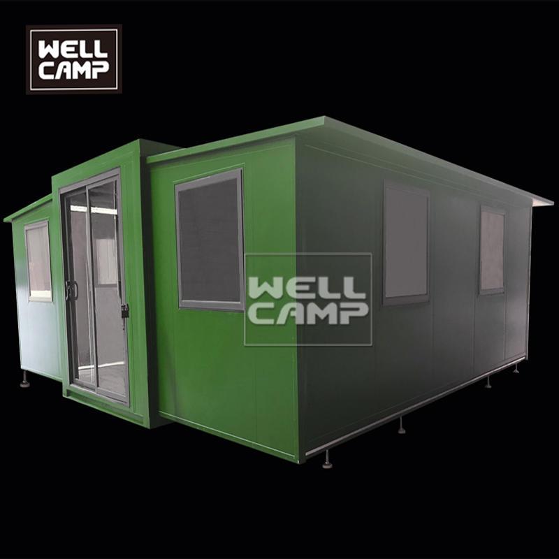 wellcamp快速安装可扩展的小型预制集装箱