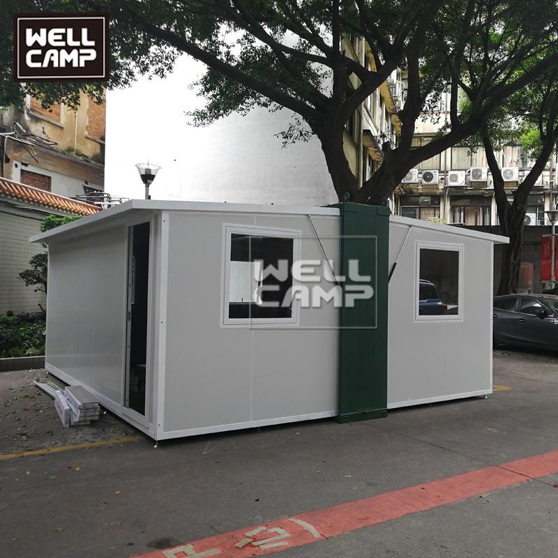 快速安装可展开式避难所集装箱展开箱,E-7